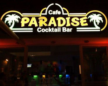 paradise cocktail bar
